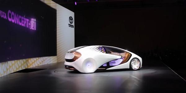 новый современный авто от концерна Тойота