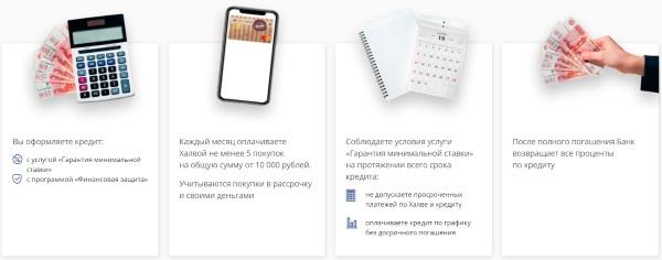Скрин с сайта Совкомбанка