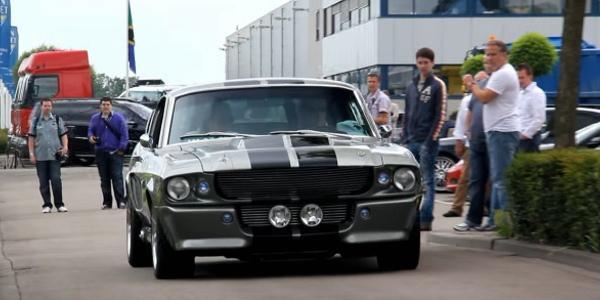 Форд Мустанг 1964 года в действие