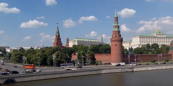 вид кремля с тобольского моста
