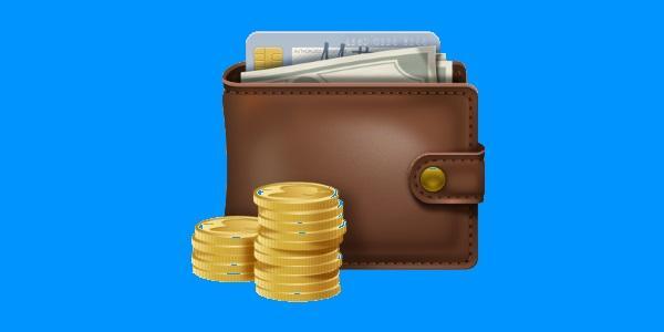 кошелек с денежными средствами