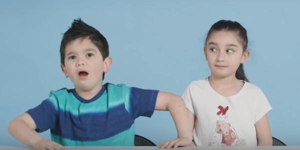 Дети рассуждают на взрослые темы
