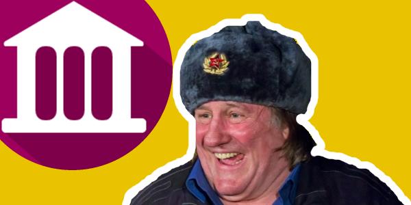 наш русский Депардье и банк