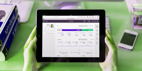 интернет банкинг с планшета