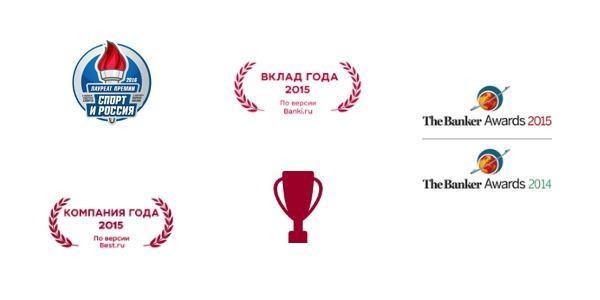 список наград МКБ банка