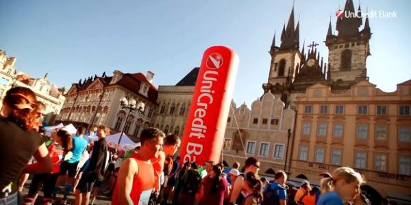 марафон в Чехии, устроенный Юникредит банком