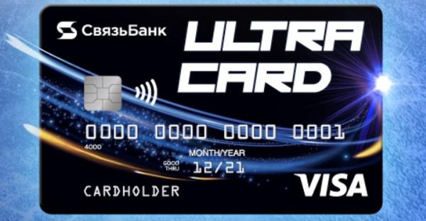Ultracard Связь Банк